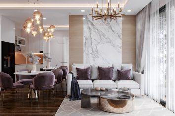 thiết kế căn hộ chung cư West Point tòa W1 căn 02