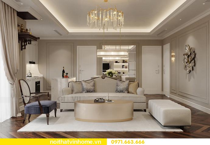 thiết kế nội thất chung cư 100m2 tại Imperia Sky Garden 3