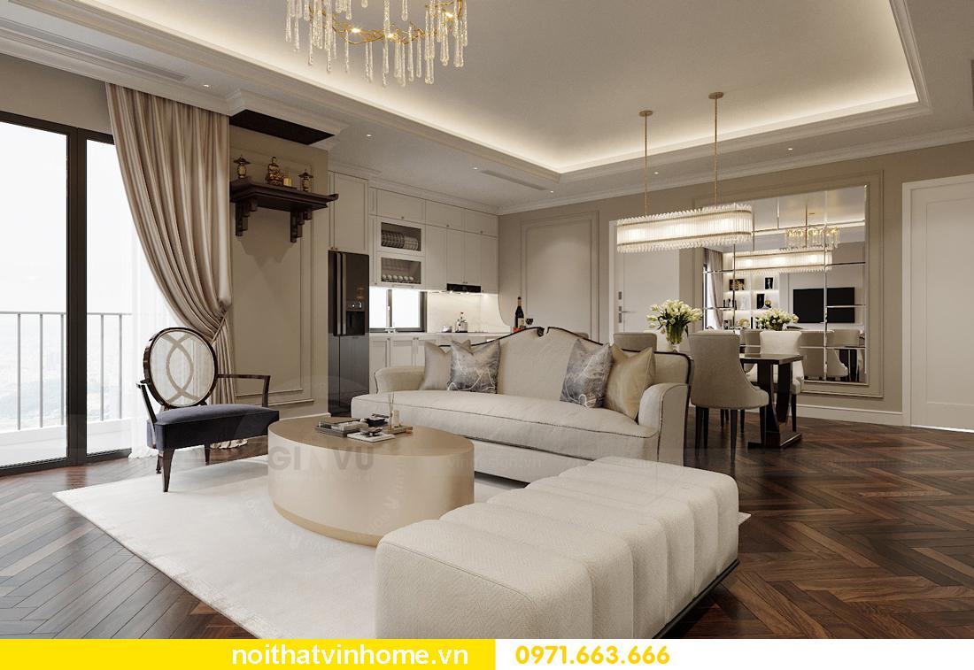 thiết kế nội thất chung cư 100m2 tại Imperia Sky Garden 4