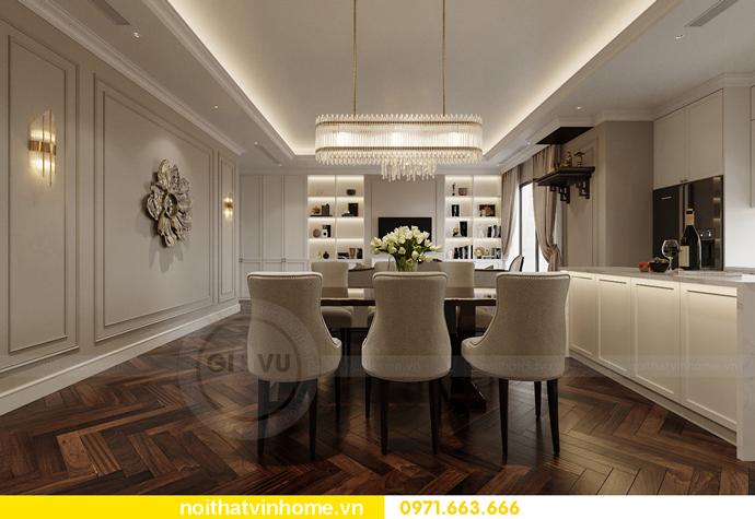 thiết kế nội thất chung cư 100m2 tại Imperia Sky Garden 5