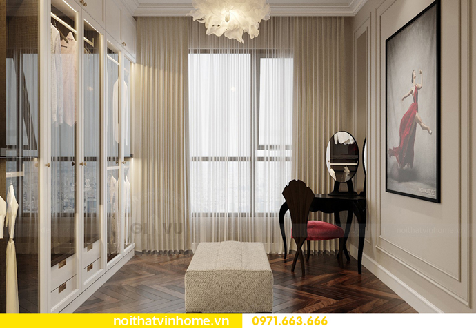 thiết kế nội thất chung cư 100m2 tại Imperia Sky Garden 9