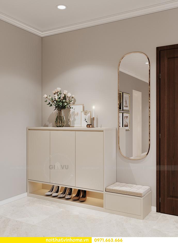 thiết kế nội thất chung cư OCean Park căn 3 phòng ngủ nhỏ 1