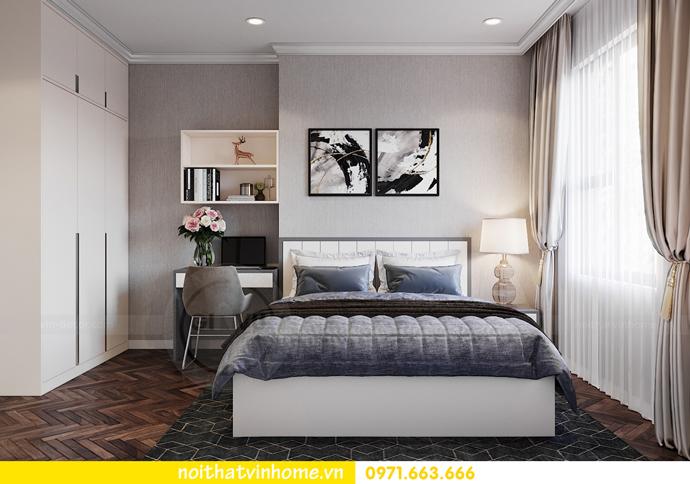 thiết kế nội thất chung cư OCean Park căn 3 phòng ngủ nhỏ 10