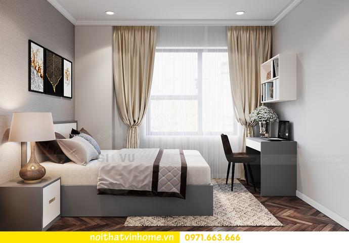 thiết kế nội thất chung cư OCean Park căn 3 phòng ngủ nhỏ 11