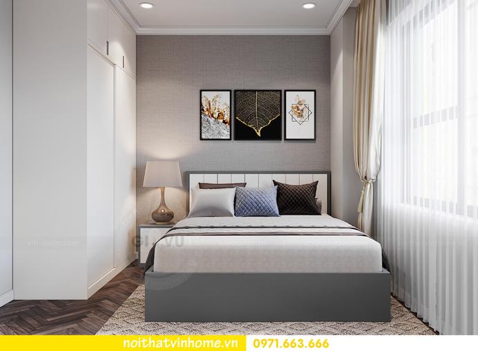 thiết kế nội thất chung cư OCean Park căn 3 phòng ngủ nhỏ 12