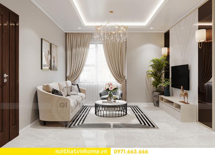 thiết kế nội thất chung cư OCean Park căn 3 phòng ngủ nhỏ 3