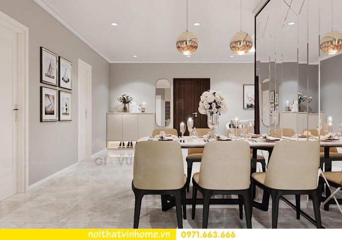 thiết kế nội thất chung cư OCean Park căn 3 phòng ngủ nhỏ 5