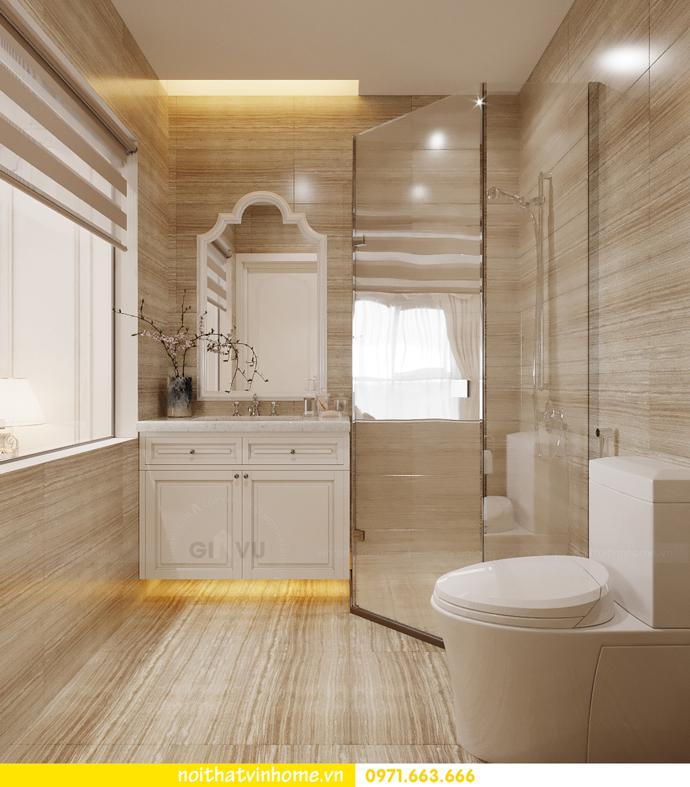 thiết kế tân cổ điển tại chung cư Vinhomes Green Bay 10
