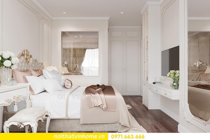 thiết kế tân cổ điển tại chung cư Vinhomes Green Bay 8