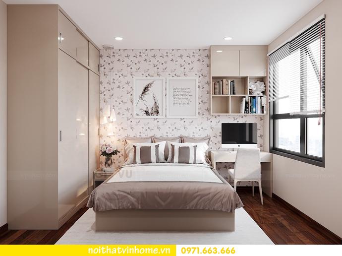 thiết kế nội thất căn hộ 3 ngủ tại Vinhomes Smart City 10