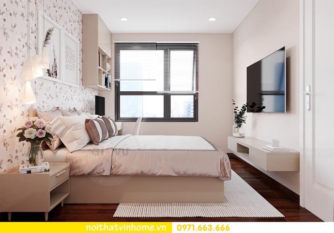 thiết kế nội thất căn hộ 3 ngủ tại Vinhomes Smart City 11
