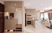 thiết kế nội thất căn hộ 3 ngủ tại Vinhomes Smart City