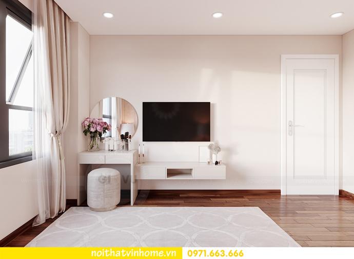thiết kế nội thất căn hộ 3 ngủ tại Vinhomes Smart City 6