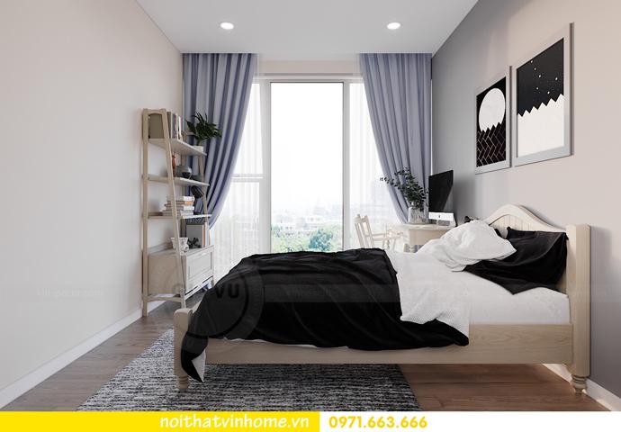 thiết kế nội thất căn hộ Smart City đơn giản mà tinh tế 10
