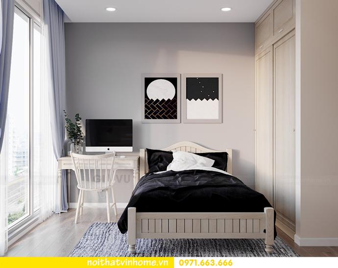 thiết kế nội thất căn hộ Smart City đơn giản mà tinh tế 11