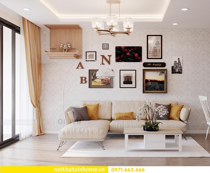 thiết kế nội thất căn hộ Smart City đơn giản mà tinh tế 2