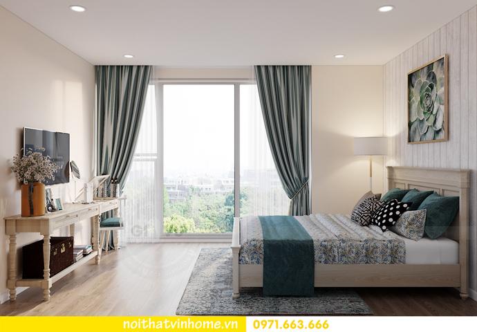 thiết kế nội thất căn hộ Smart City đơn giản mà tinh tế 7