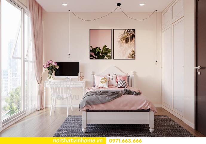 thiết kế nội thất căn hộ Smart City đơn giản mà tinh tế 8