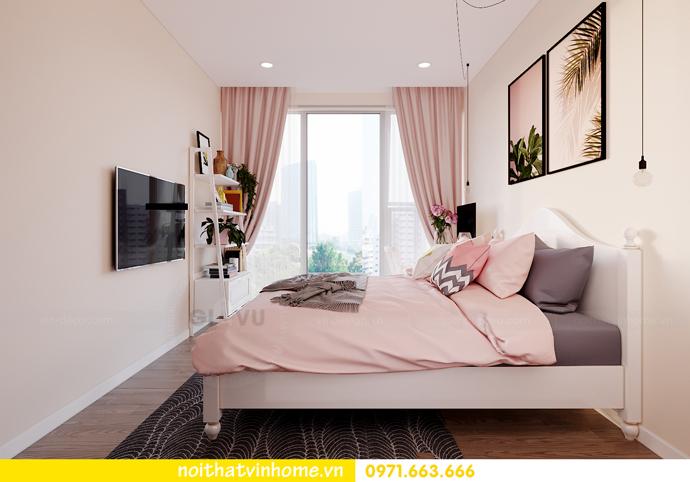 thiết kế nội thất căn hộ Smart City đơn giản mà tinh tế 9