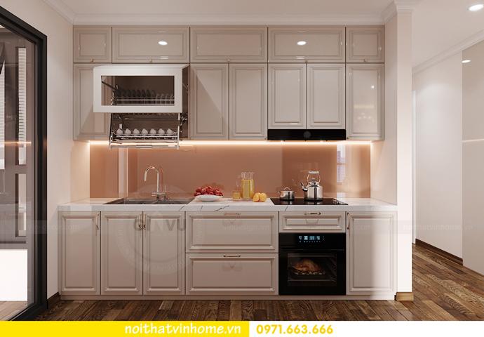 thiết kế nội thất chung cư Smart City căn 2 ngủ hiện đại 2