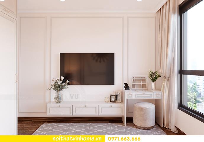 thiết kế nội thất chung cư Smart City căn 2 ngủ hiện đại 6
