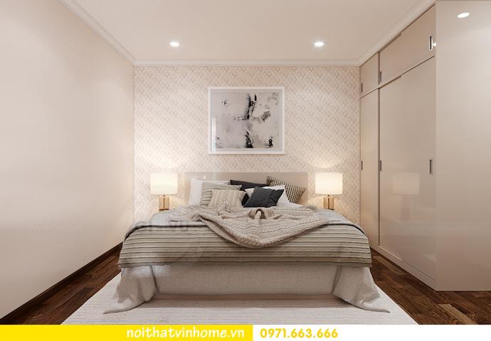 thiết kế nội thất chung cư Smart City căn 2 ngủ hiện đại 8