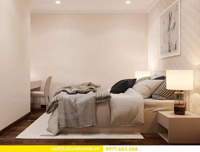 thiết kế nội thất chung cư Smart City căn 2 ngủ hiện đại 9