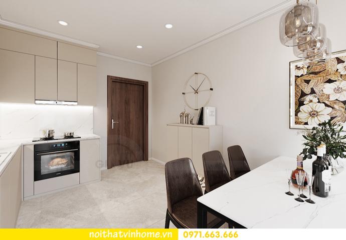 Chung cư Smart City mẫu thiết kế căn hộ 3 phòng ngủ đẹp 1