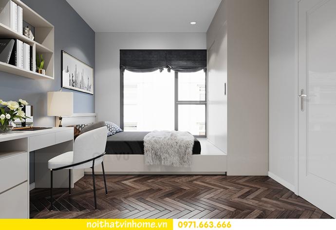 Chung cư Smart City mẫu thiết kế căn hộ 3 phòng ngủ đẹp 10