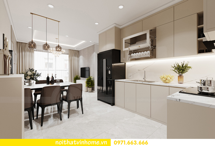 Chung cư Smart City mẫu thiết kế căn hộ 3 phòng ngủ đẹp 2