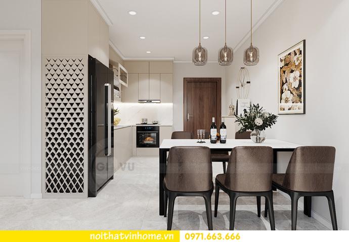 Chung cư Smart City mẫu thiết kế căn hộ 3 phòng ngủ đẹp 3