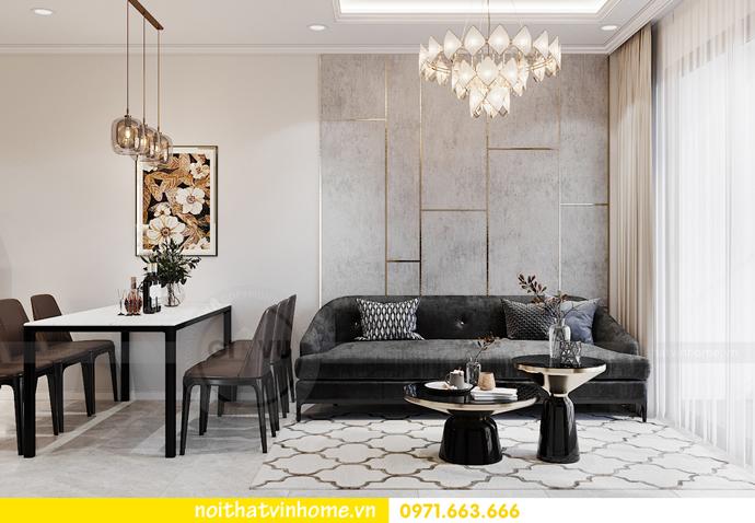 Chung cư Smart City mẫu thiết kế căn hộ 3 phòng ngủ đẹp 4