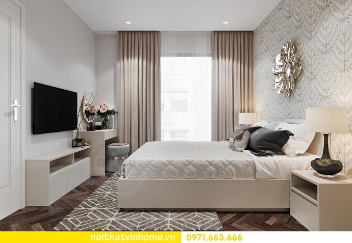 Chung cư Smart City mẫu thiết kế căn hộ 3 phòng ngủ đẹp 7