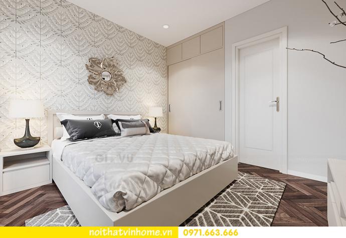 Chung cư Smart City mẫu thiết kế căn hộ 3 phòng ngủ đẹp 8