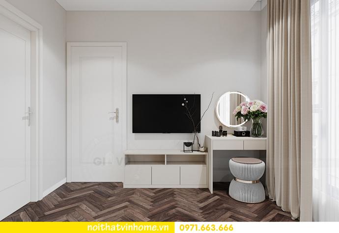 Chung cư Smart City mẫu thiết kế căn hộ 3 phòng ngủ đẹp 9