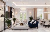 thiết kế nội thất biệt thự đẹp tại Vinhomes OCean Park khu Ngọc Trai