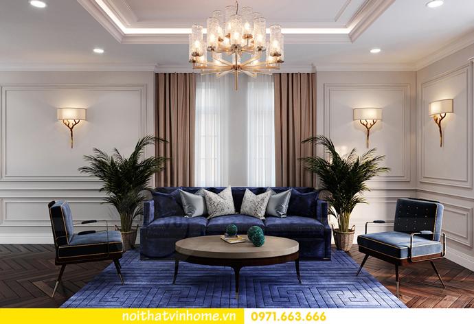 thiết kế nội thất biệt thự đẹp tại Vinhomes OCean Park khu Ngọc Trai 26