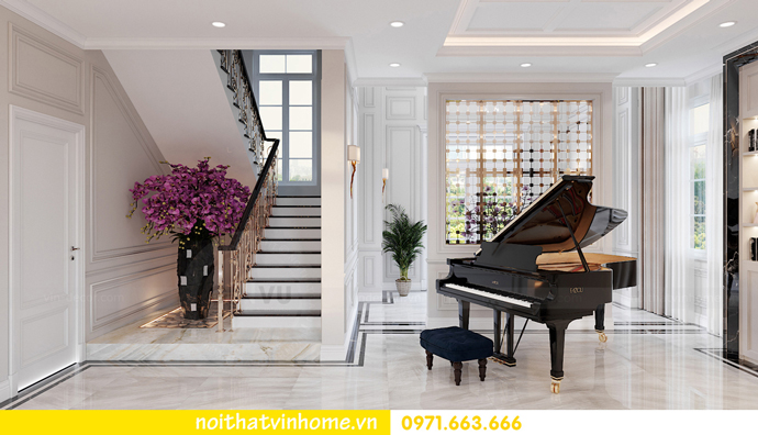 thiết kế nội thất biệt thự đẹp tại Vinhomes OCean Park khu Ngọc Trai 4