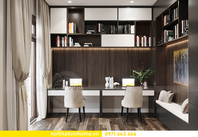 thiết kế nội thất biệt thự OCean Park sang trọng, đẳng cấp 13