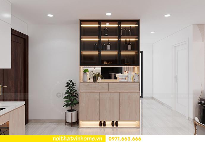 thiết kế nội thất Vinhomes Smart City tòa S202 căn hộ 10A 1