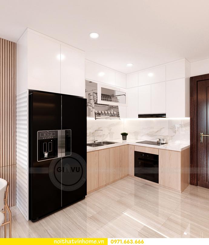 thiết kế nội thất Vinhomes Smart City tòa S202 căn hộ 10A 2