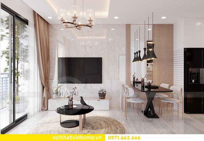 thiết kế nội thất Vinhomes Smart City tòa S202 căn hộ 10A 3