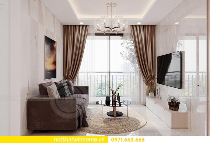 thiết kế nội thất Vinhomes Smart City tòa S202 căn hộ 10A 4