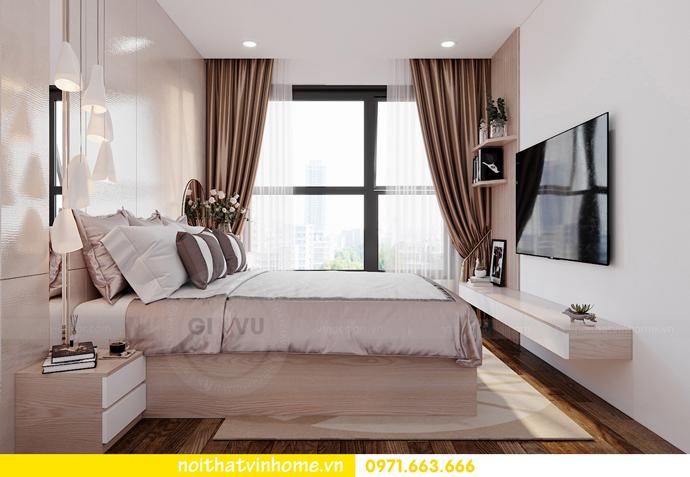 thiết kế nội thất Vinhomes Smart City tòa S202 căn hộ 10A 5
