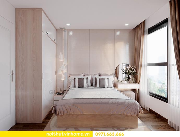 thiết kế nội thất Vinhomes Smart City tòa S202 căn hộ 10A 6