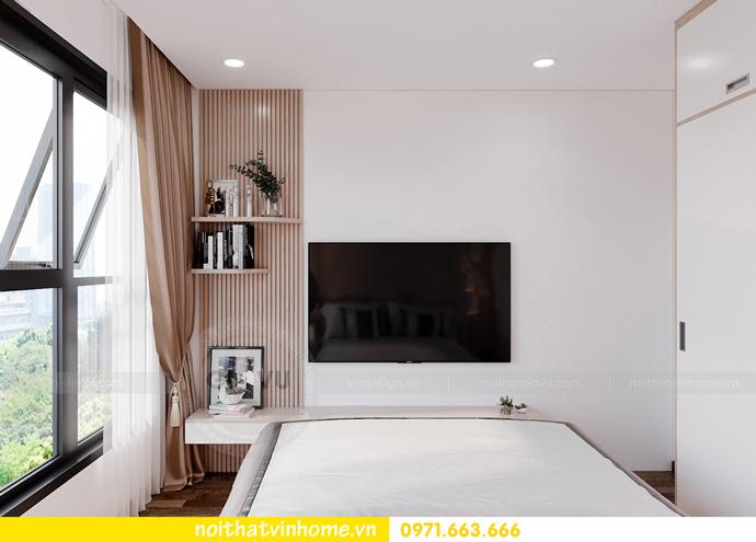 thiết kế nội thất Vinhomes Smart City tòa S202 căn hộ 10A 7