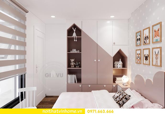 thiết kế nội thất Vinhomes Smart City tòa S202 căn hộ 10A 8