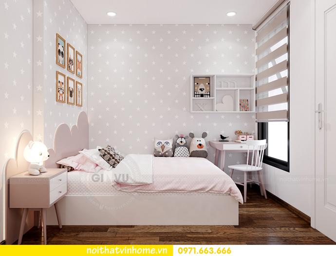 thiết kế nội thất Vinhomes Smart City tòa S202 căn hộ 10A 9