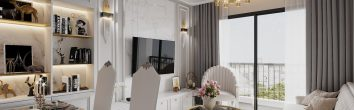 hoàn thiện nội thất chung cư Smart City tòa S202 căn 05A