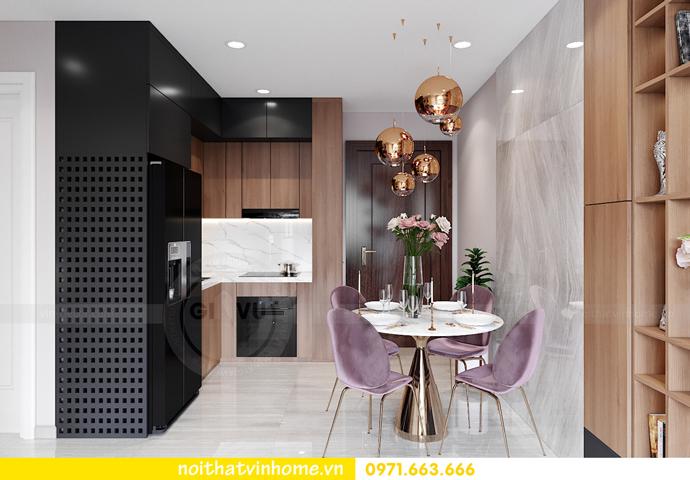 thiết kế nội thất căn hộ Vinhomes Smart City tòa S202 căn 17 1